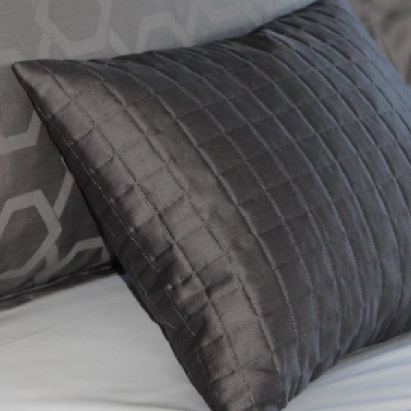 Fleet grey cushion