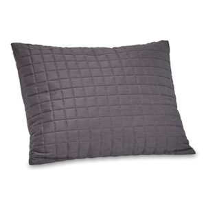 Fleet charcoal grey cushion