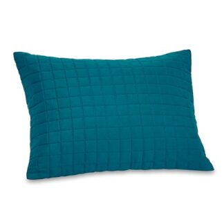 Fleet teal cushion