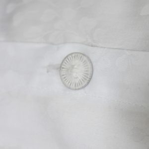 jasmine buttoned pillowcase