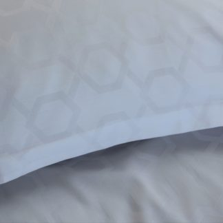 Excalibur white duvet cover
