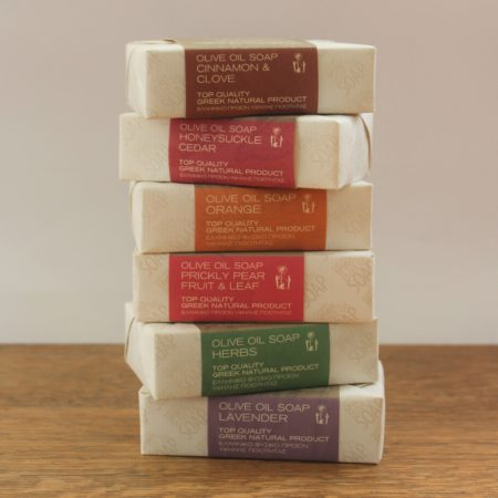 herbs olive oil soap