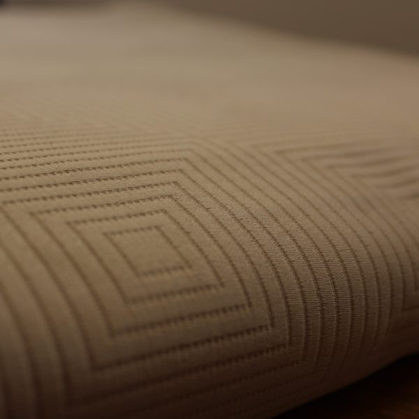 Berlin taupe cotton bedspread