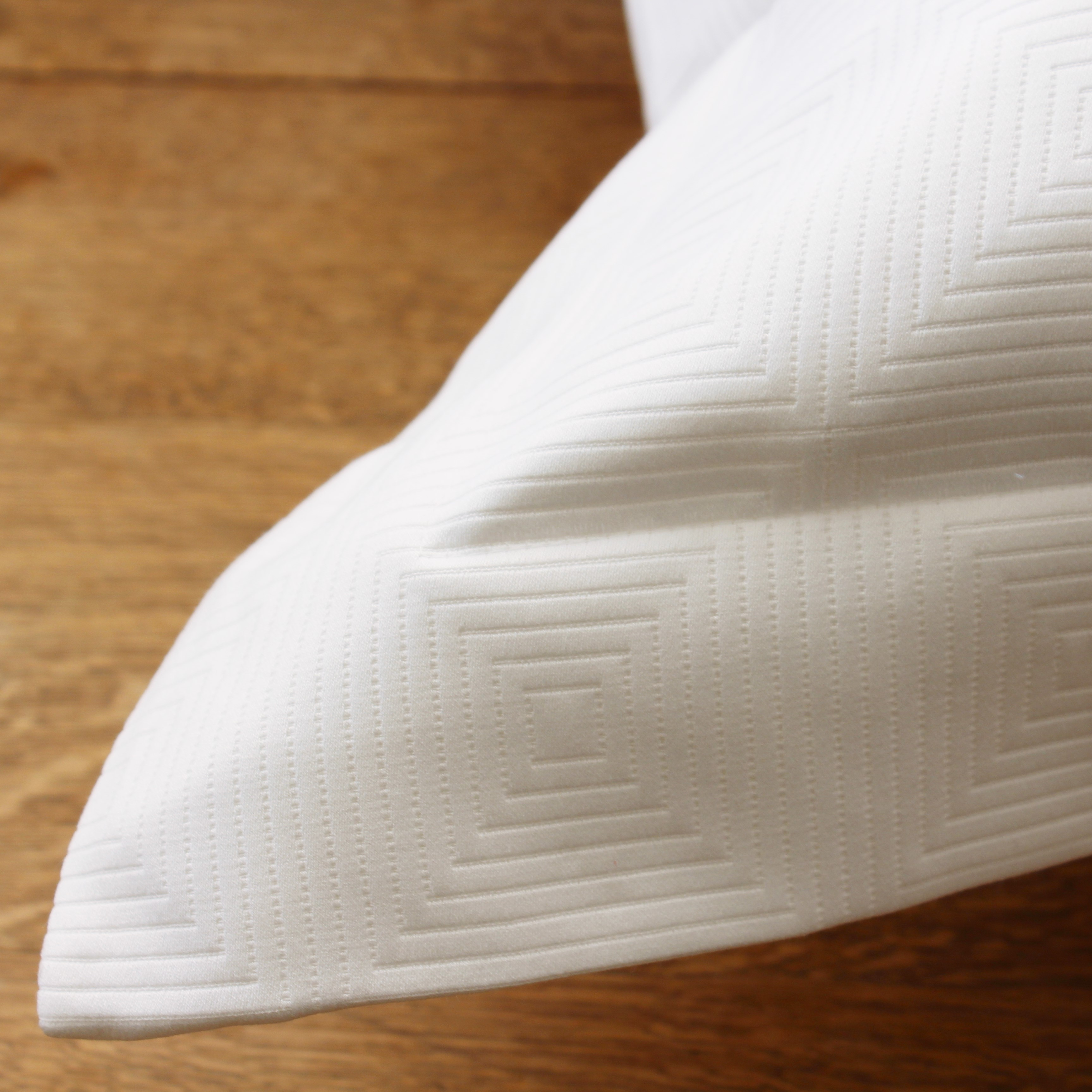 Berlin Pillow Sham White