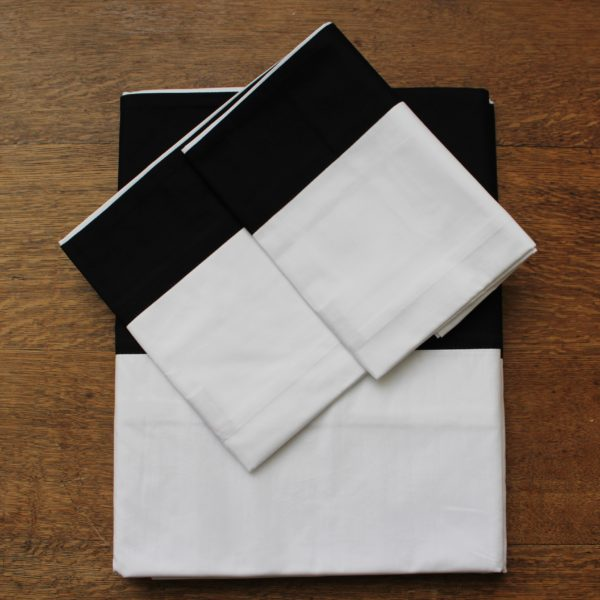 Sienna Duvet Set Black