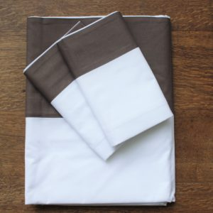 Sienna Duvet Set Coffee