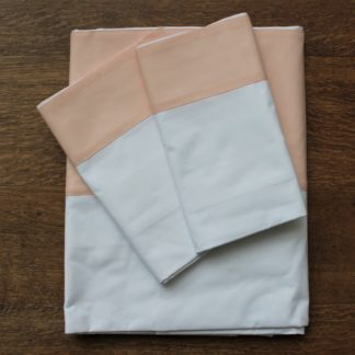 Sienna Duvet Set Peach