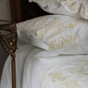 guinevere embroidered pillowcase