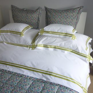 whisper flat sheet green