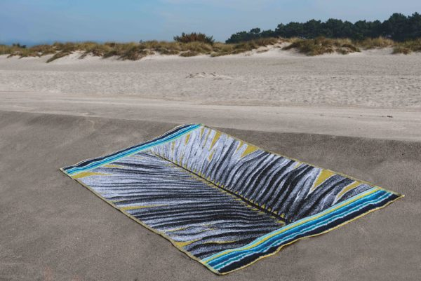 COACHELLA velour beach towel