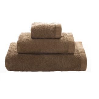 Vintage Ribbon Towel Taupe