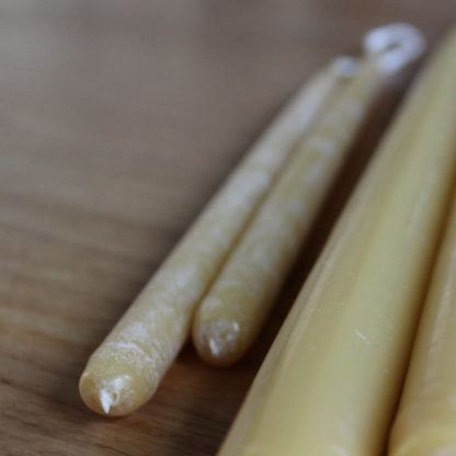 Beeswax Hand Dipped Taper Candles